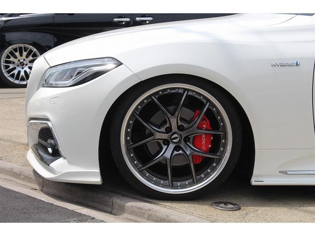 RSアドバンス エイムゲインフルエアロ カーボンショットマフラー HKS車高調 エイムゲインGTM20インチ フォルテキャリパー 1オーナー車両 シーケンシャルウインカー ブリッツスロットルコントローラー(8枚目)