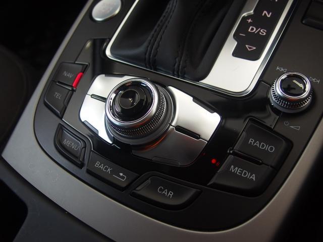 ☆ナビゲーションシステムはMMI(マルチメディアインターフェイス)と呼ばれ、中央の大きなダイヤルを中心としたボタン配置となっており、操作のしやすさが特徴のシステムになっています☆