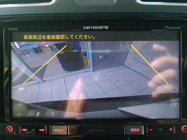 スバル フォレスター S-リミテッド ルーフレール 純正SDナビ フルセグTV