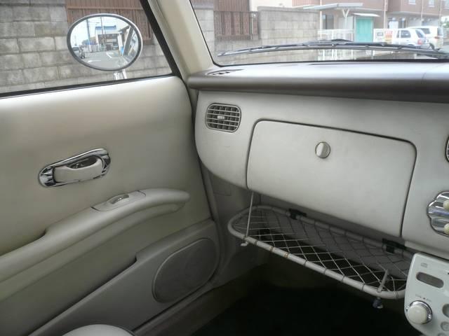 日産 フィガロ オープントップ ETC 内外装レストア車