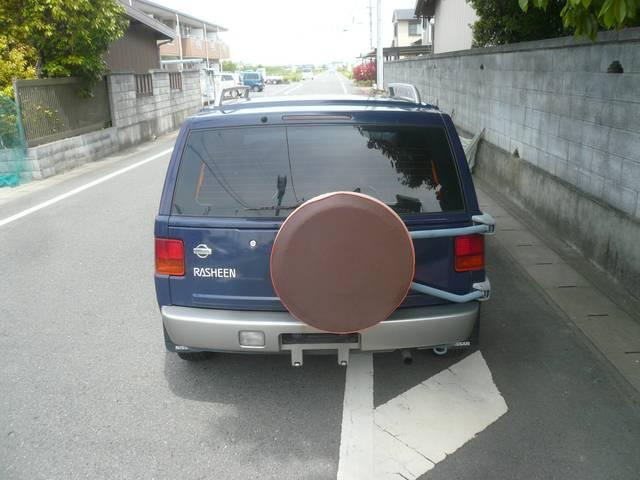タイプII 4WD キーレス 社外デッキ 背面タイヤ(5枚目)