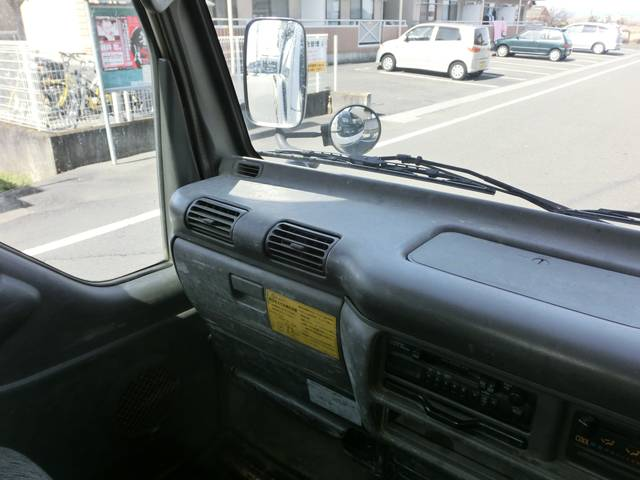 いすゞ エルフトラック フラットローダンプ