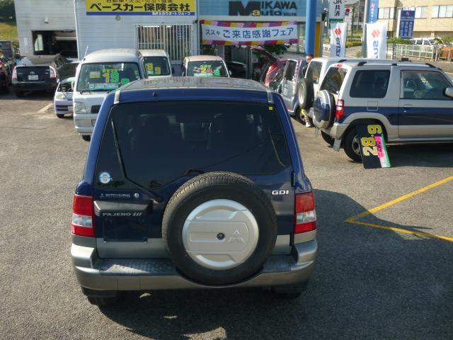 「三菱」「パジェロイオ」「SUV・クロカン」「愛知県」の中古車7