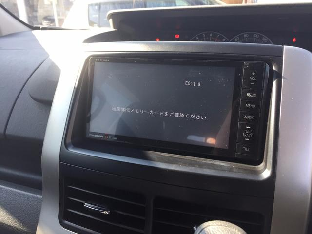 トヨタ ヴォクシー X 社外SDナビ 地デジTV バックカメラ タイヤ新品