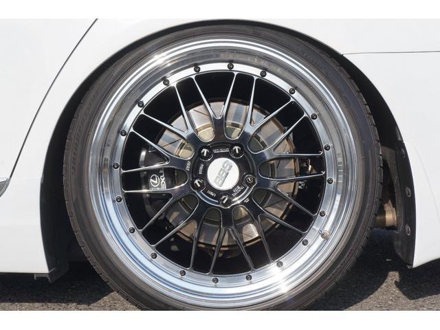 レクサス LS LS460 Fスポーツ BBS21インチ 白革 サンルーフ