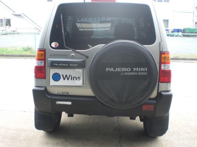 三菱 パジェロミニ X 5速MT 4WD