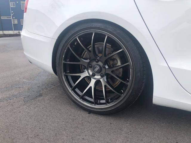 2.0TFSIクワトロ KW車高調 RYAS19インチAW ブラックレザーシート シートヒーター ETC(28枚目)