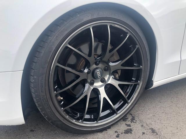 2.0TFSIクワトロ KW車高調 RYAS19インチAW ブラックレザーシート シートヒーター ETC(55枚目)