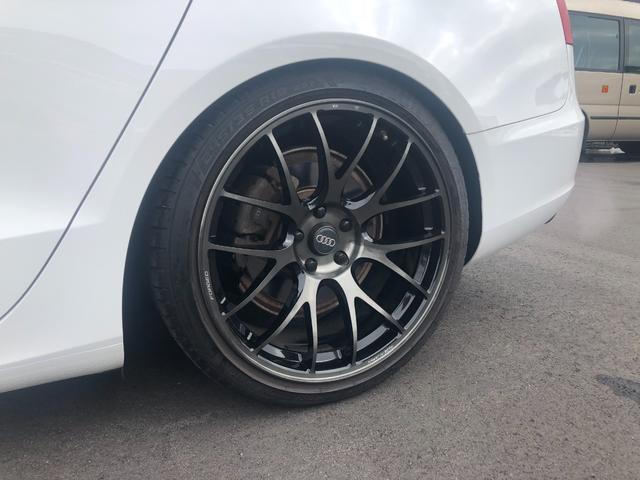 2.0TFSIクワトロ KW車高調 RYAS19インチAW ブラックレザーシート シートヒーター ETC(62枚目)