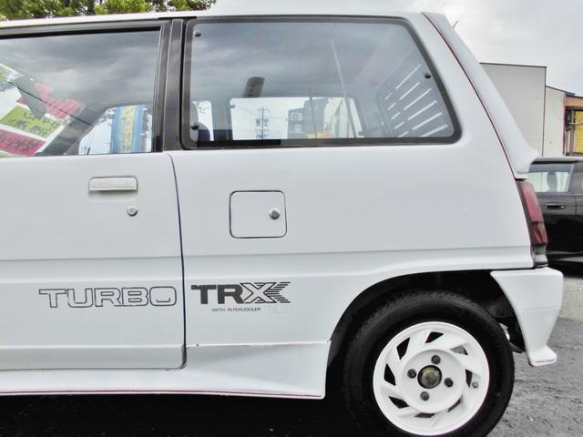 ダイハツ ミラ TR-XXターボ 2オーナー KYBショック 5MT
