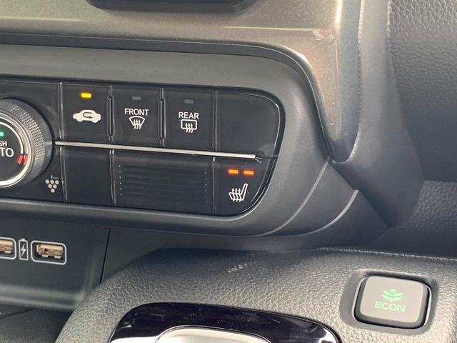 Lホンダセンシング デモカー ギャザズ8インチナビ サイドエアバック リアカメラ LEDヘッドライト オート機能付 電子パーキング ブレーキホールド シートヒーター 純正14AW ETC(23枚目)
