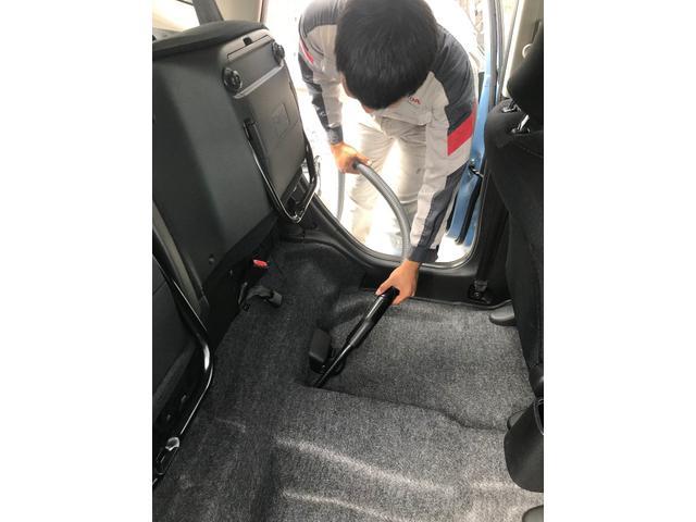 L 届出済未使用車 オーディオレス 片側電動スライドドア シートバックテーブル シートヒーター センシング パーキングセンサー LEDヘッドライト 衝突軽減 誤発進抑制 ACC(34枚目)