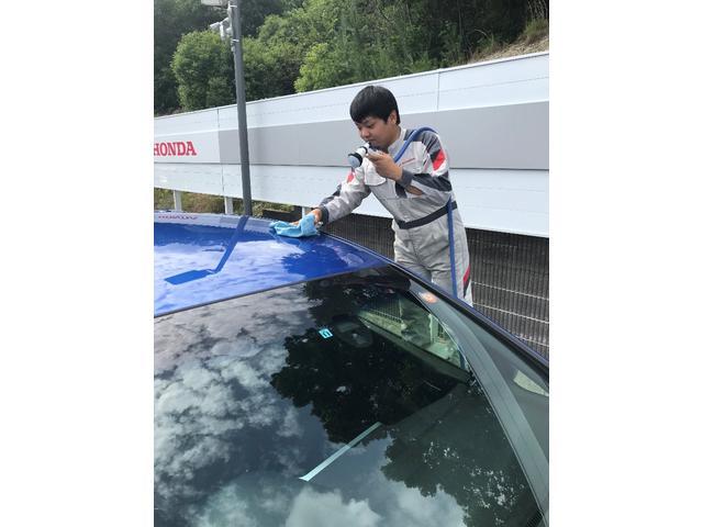 L 新型 届出済未使用車 オーディオレス 片側電動スライドドア オートリトラミラー サイドエアバック シートバックテーブル シートヒーター パーキングセンサー 純正14AW(30枚目)