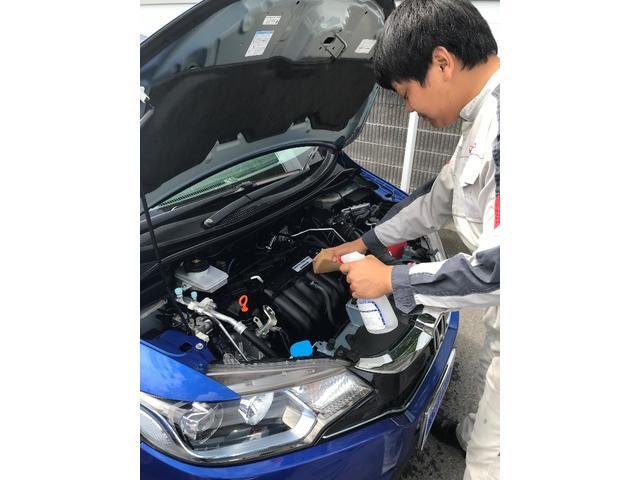 L 新型 届出済未使用車 オーディオレス 両側電動スライドドア パーキングセンサー オートリトラミラー サイドエアバック シートバックテーブル シートヒーター 純正14AW センシング(32枚目)