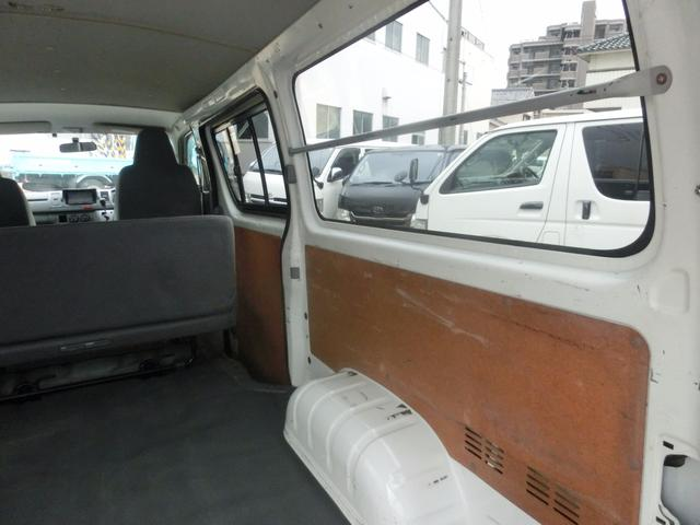 トヨタ ハイエースバン ロングDX ディーゼルターボ NoxPm適合 ETC 5ドア