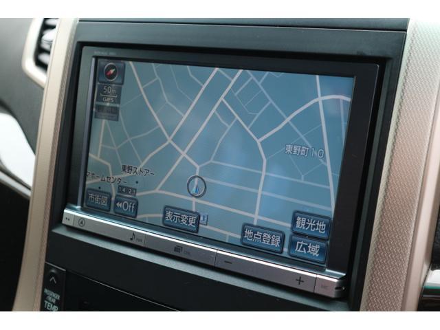 トヨタ ヴェルファイア 2.4Z ゴールデンアイズ 8型HDD 天吊M サンルーフ