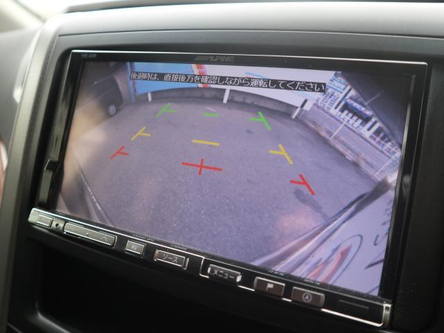 バックカメラ装備で後方確認もラクラク。運転が苦手な方にも安心していただけます。