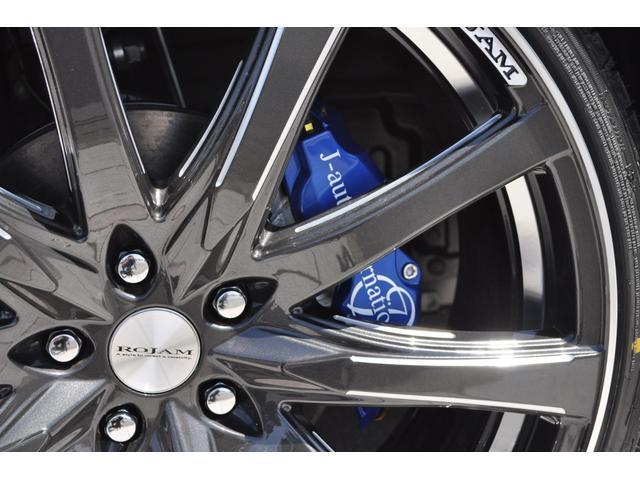 2.5S Cパッケージ 新車 ROJAMコンプリート 21インチ サンルーフ デジタルミラー 黒革 12.1型後席モニターDVD 置くだけ充電 100V BSM ICS(10枚目)
