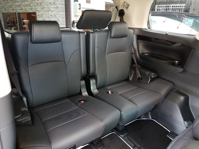 2.5S Cパッケージ 新車 ROJAMコンプリート 21インチ サンルーフ デジタルミラー 黒革 12.1型後席モニターDVD 置くだけ充電 100V BSM ICS(20枚目)