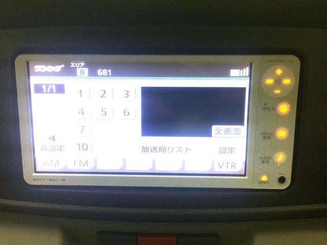 ダイハツ アトレーワゴン カスタムターボRS 純正SDナビTV