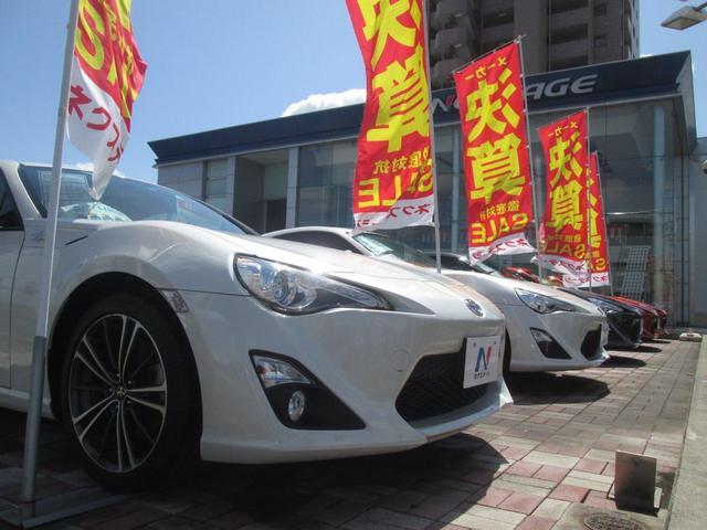 特に人気の高いトヨタ「86」マツダ「ロードスター」などクーペタイプにも力を入れております☆