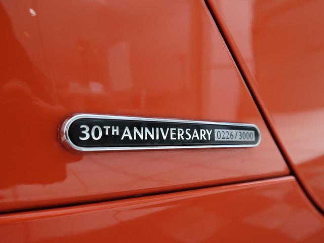 30周年記念車 国内150台限定 RAYS製鍛造アルミ 専用RECAROシート Bremboキャリパー BOSEサウンド(47枚目)