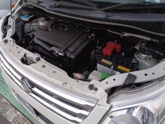 スズキ ワゴンR FXリミテッド ワンオーナー車 社外ナビ スマートキー