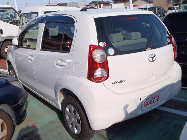 トヨタ パッソ X ワンオーナー車 キーレス CD 保証付き