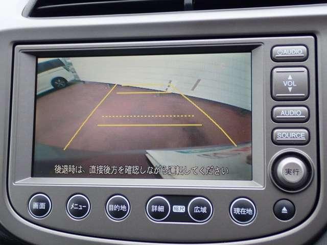 ホンダ フィット L 純正HDDナビ HID リアカメラ