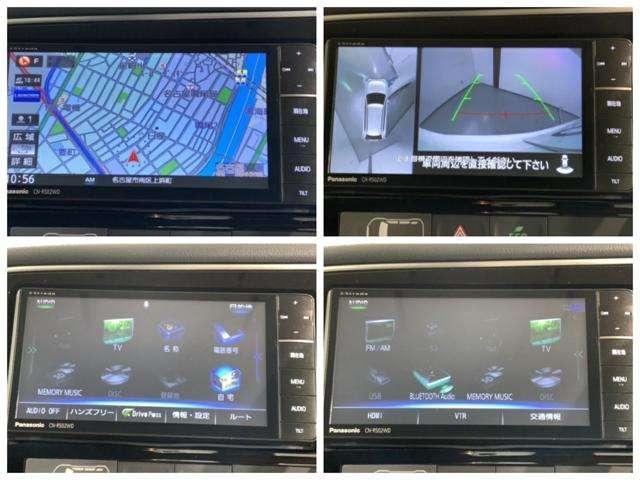 Gセーフティパッケージ 禁煙1オーナー 衝突軽減 ナビ全方位カメラ Fドラレコ HID BTaudio フルセグ CD ETC クルコン 4WD シ-トヒ-タ- AW パワーシート AC オートライト 盗難防止 スマートキー(11枚目)