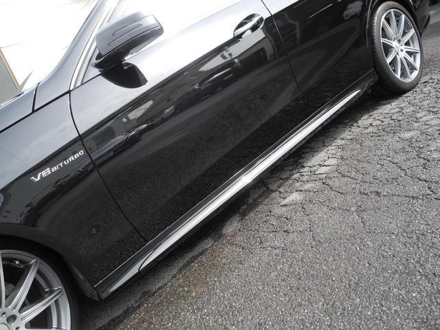 メルセデス・ベンツ M・ベンツ E300 AVG 新品E63仕様 ワンオーナー 後期型 黒革