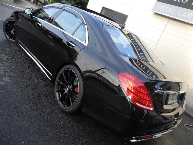 S550ロング 1オーナ 黒革 S65仕様 ZEESマフラー(6枚目)