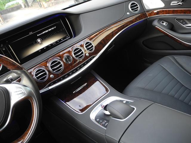 S550ロング 1オーナ 黒革 S65仕様 ZEESマフラー(9枚目)
