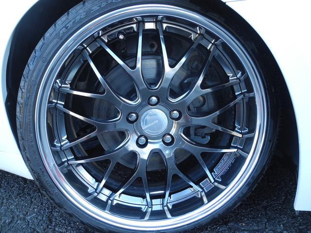 ベースグレード 黒革サンルーフ新品車高調新品ワーク20AW(3枚目)