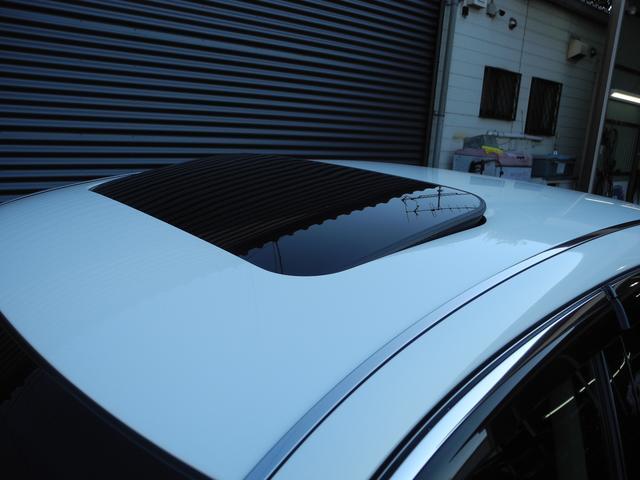 ベースグレード 黒革サンルーフ新品車高調新品ワーク20AW(17枚目)