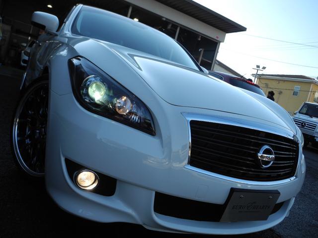 ベースグレード 黒革サンルーフ新品車高調新品ワーク20AW(19枚目)
