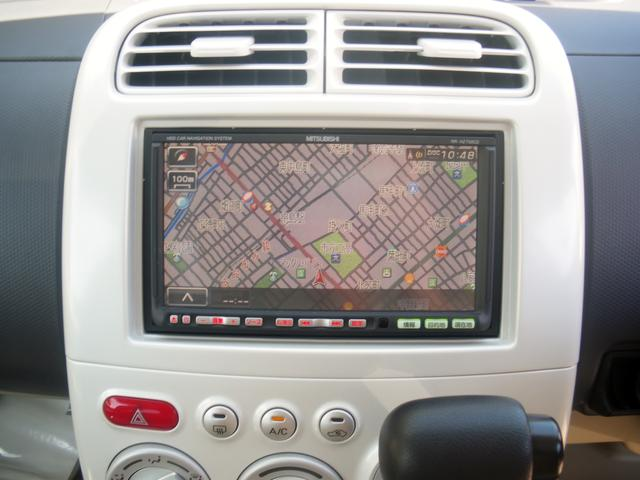 三菱 eKワゴン M 社外HDDナビ ETC