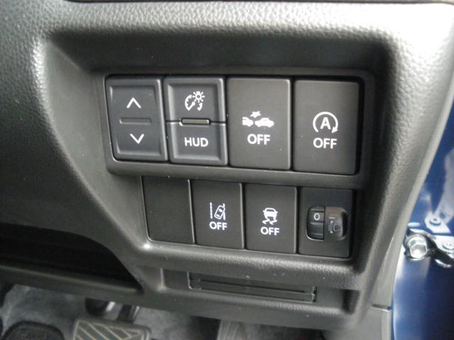 ハイブリッドFX リミテッド 25周年記念車 スマートキー ヘッドアップディスプレイ スズキセーフティサポート シートヒーター(12枚目)