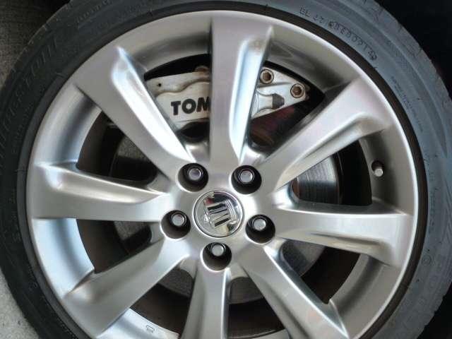 トヨタ クラウンマジェスタ CタイプスーパーチャージャーTOM'sハイパーブレーキキット