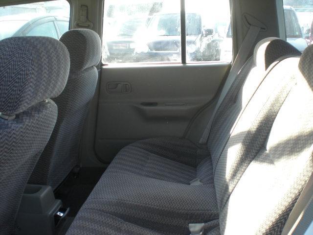 日産 ラシーン タイプII Tチェーン キーレス 14アルミ 背面タイヤ