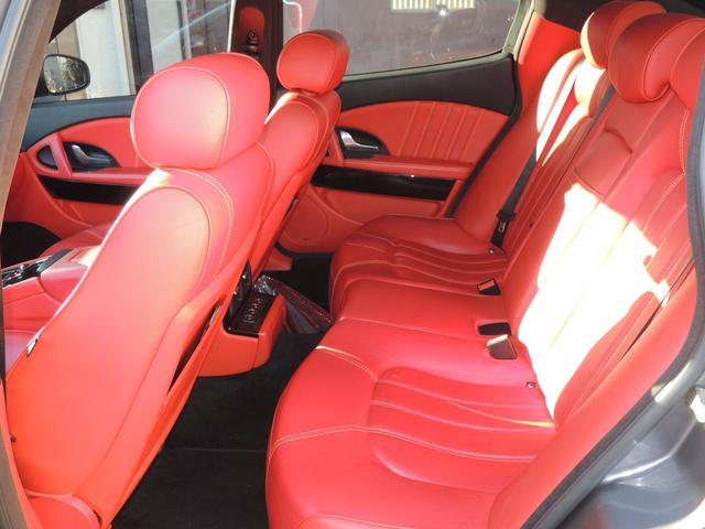 マセラティ マセラティ クアトロポルテ 4.7S特注エキマニ 赤革 H&Rサス GTS用20インチ