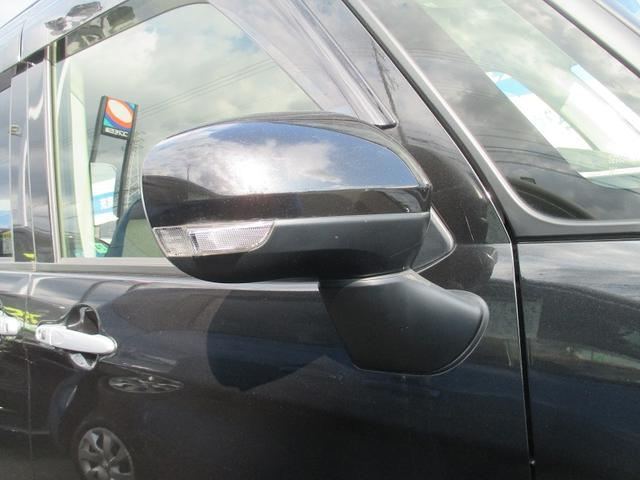 ウインカー付ドアミラー!ただ単純に他の車に対しての安全性だけでなく高級感を演出します。