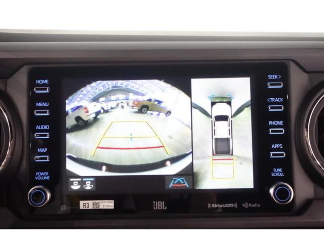 ダブルキャブ SR5 2021y TRDPRO シーケンシャルウィンカー サンルーフ TRDPRO専用FOXショック アルミ TRDマフラー&スキッドプレート CarPlay対応 TRDPROロゴ入りレザーシート(18枚目)