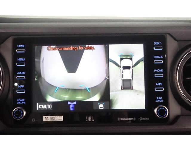 ダブルキャブ SR5 2021y TRDPRO シーケンシャルウィンカー サンルーフ TRDPRO専用FOXショック アルミ TRDマフラー&スキッドプレート CarPlay対応 TRDPROロゴ入りレザーシート(28枚目)