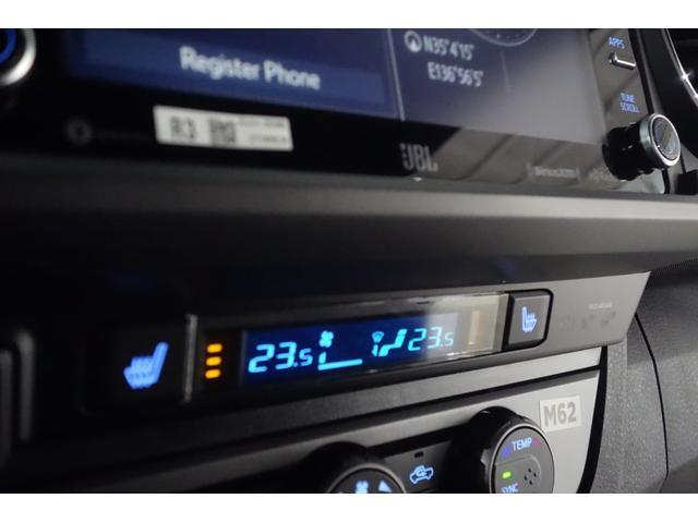 ダブルキャブ SR5 2021y TRDPRO シーケンシャルウィンカー サンルーフ TRDPRO専用FOXショック アルミ TRDマフラー&スキッドプレート CarPlay対応 TRDPROロゴ入りレザーシート(29枚目)