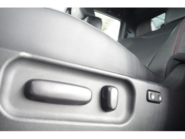 ダブルキャブ SR5 2021y TRDPRO シーケンシャルウィンカー サンルーフ TRDPRO専用FOXショック アルミ TRDマフラー&スキッドプレート CarPlay対応 TRDPROロゴ入りレザーシート(32枚目)
