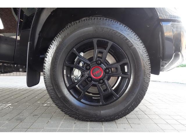 クルーマックス SR5 TRDPRO ブラックレザー サンルーフ LEDヘッドライト&専用LEDフォグ 専用FOXショック&リフトアップ TRDマフラー&スキッドプレート 鍛造18インチアルミ CarPlay対応(10枚目)