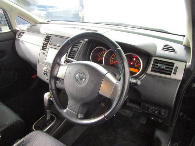 日産 ティーダ 15M /ワンセグHDDナビ キーレス オートライト ETC
