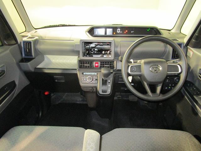 Xターボ 左側パワースライドドア 衝突軽減ブレーキ レーンアシスト インテリキー プッシュスタート アイドリングストップ クリアランスソナー LEDオートライト 電動格納ミラー オートエアコン(9枚目)