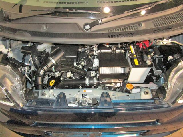 Xターボ 左側パワースライドドア 衝突軽減ブレーキ レーンアシスト インテリキー プッシュスタート アイドリングストップ クリアランスソナー LEDオートライト 電動格納ミラー オートエアコン(20枚目)